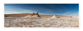 Premium poster  Panorama Valley of the Moon, Atacama, Chile - Circumnavigation