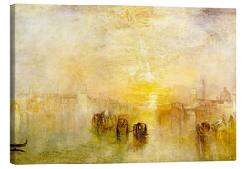 Canvas print  Going to the Ball (San Martino) - Joseph Mallord William Turner