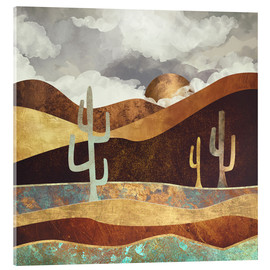 Acrylic print  Patina Desert Hills - SpaceFrog Designs