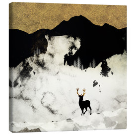 Canvas print  Winter Silence  - SpaceFrog Designs