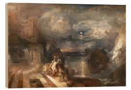 Wood print  The Parting of Hero and Leander - Joseph Mallord William Turner