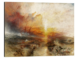 Aluminium print  The slave ship - Joseph Mallord William Turner
