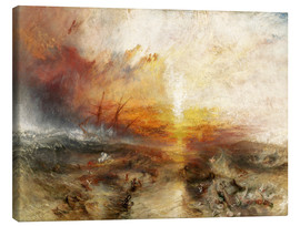 Canvas  The slave ship - Joseph Mallord William Turner