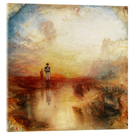 Acrylic print  War, the Exile and the Rock Limpet - Joseph Mallord William Turner