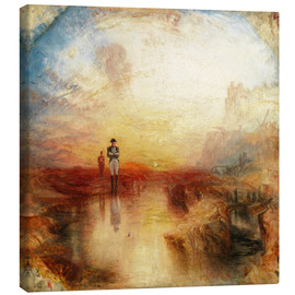 Canvas print  War, the Exile and the Rock Limpet - Joseph Mallord William Turner