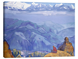 Canvas print  Book of wisdom - Nicholas Roerich