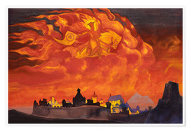 Premium poster  Sophia, the Wisdom of the Almighty - Nicholas Roerich