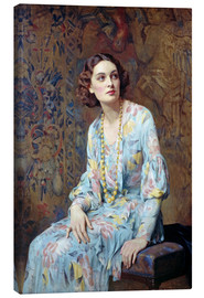 Albert Henry Collings - Portrait of a Lady