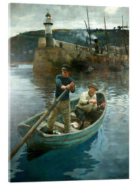 Acrylic glass  The Lighthouse - Stanhope Alexander Forbes
