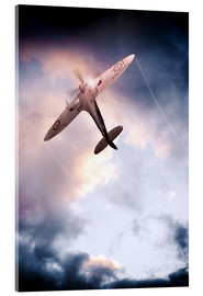 Acrylic print  Spitfire, One of The Few - airpowerart