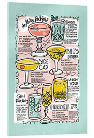Acrylic print  Have A Drink on Me - Cynthia Frenette