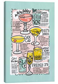 Canvas print  Have A Drink on Me - Cynthia Frenette