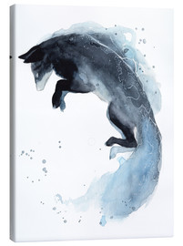 Canvas print  Watercolor fox - Déborah Maradan