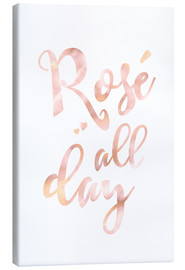 Canvas print  Rosé all day - Ohkimiko