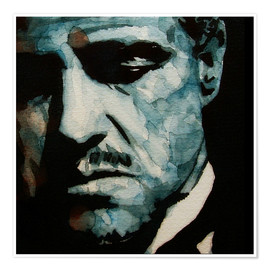 Premium poster  The Godfather, Marlon Brando - Paul Lovering