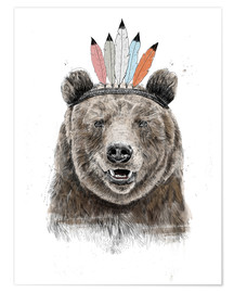 Premium poster Bear chief