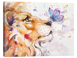 Canvas print  Finn's Lion - Sillier Than Sally