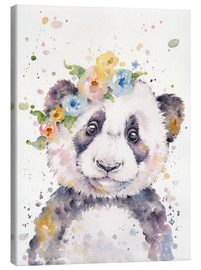 Canvas print  Little panda - Sillier Than Sally