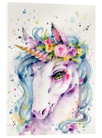Acrylic print  Little unicorn - Sillier Than Sally