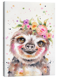 Canvas  Little Sloth - Sillier Than Sally