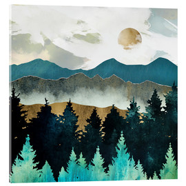 Acrylic print  Forest Hills - SpaceFrog Designs