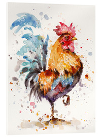 Acrylic print  Proud Rooster - Sillier Than Sally