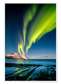 Premium poster  Northern Lights Northern Northern II - Sascha Kilmer