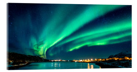 Acrylic print  Northern Lights in Northern Norway - Sascha Kilmer