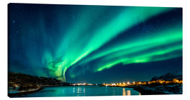 Canvas print  Northern Lights in Northern Norway - Sascha Kilmer