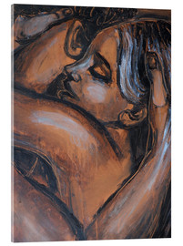 Acrylic print  Lovers - Stay With Me - Carmen Tyrrell