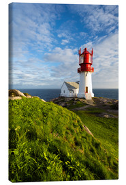 Canvas  Lindesnes Lighthouse - Dave Derbis