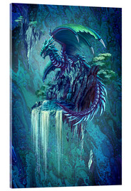 Acrylic print  The Dragon's Waterfall - Anja Kostka