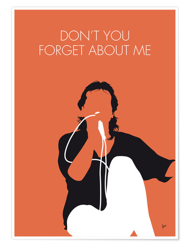 Premium poster Simple Minds - Don't You Forget About Me
