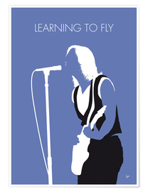 Premium poster Tom Petty - Learning To Fly