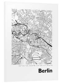 Forex  City map of Berlin - 44spaces