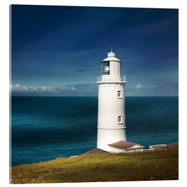 Acrylic print  Lighthouse Trevose Head Cornwall - Sabine Wagner