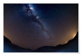 Premium poster  The Milky Way Galaxy from the Namib desert, Namibia - Fabio Lamanna