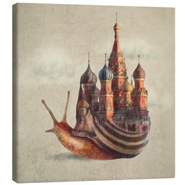 Canvas print  The Snail's Daydream - Eric Fan