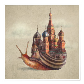 Premium poster  The Snail's Daydream - Eric Fan