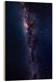 Wood print  The Milky Way Galaxy - Fabio Lamanna