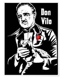 Premium poster Don Vito Corleone, the godfather