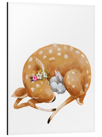 Kidz Collection - Fawn and baby bunny