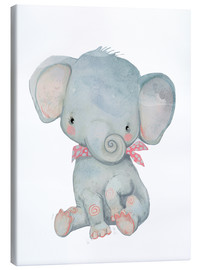 Canvas  My little elephant - Kidz Collection