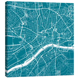 44spaces - City map of Frankfurt