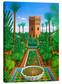 Canvas print  Marjorelle Cactus - Larry Smart