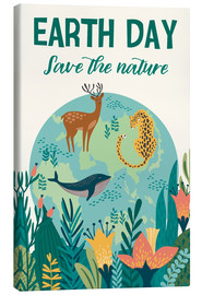 Canvas print  Nature conservation design - Kidz Collection