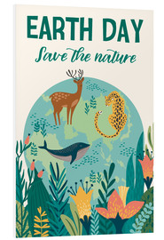 Foam board print  Nature conservation design - Kidz Collection