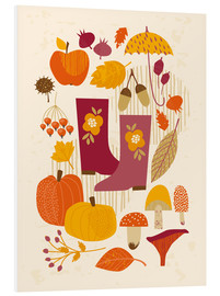 Foam board print  Autumn days - Kidz Collection