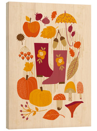 Wood  autumn days - Kidz Collection