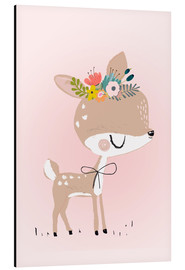 Aluminium print  Deer Rosalie - Kidz Collection